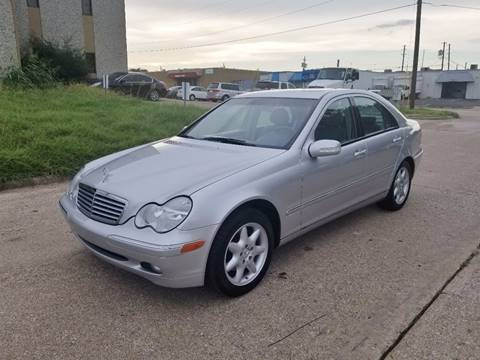 2002 Mercedes-Benz C-Class for sale at DFW Autohaus in Dallas TX