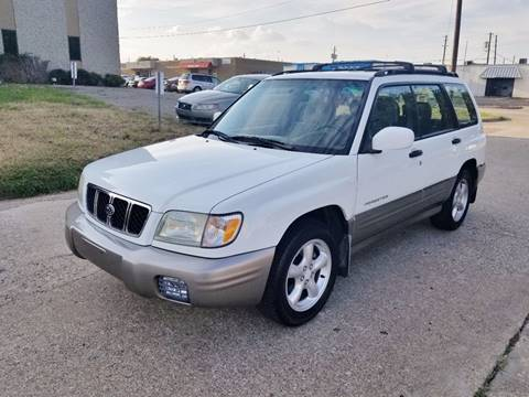 2002 Subaru Forester for sale at DFW Autohaus in Dallas TX