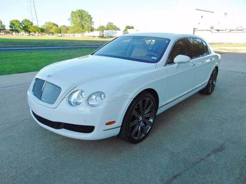 2007 Bentley Continental Flying Spur for sale at DFW Autohaus in Dallas TX