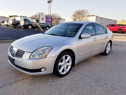 2005 Nissan Maxima for sale at DFW Autohaus in Dallas TX