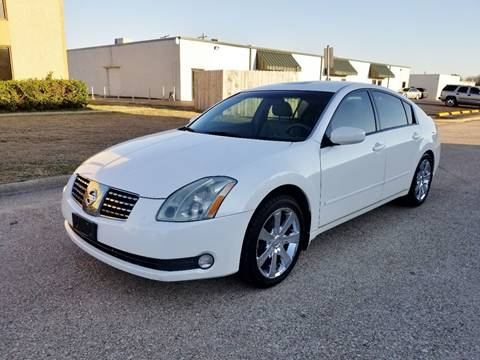 2004 Nissan Maxima for sale at DFW Autohaus in Dallas TX