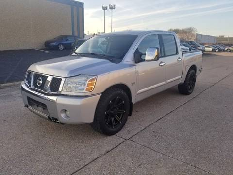 2004 Nissan Titan for sale at DFW Autohaus in Dallas TX