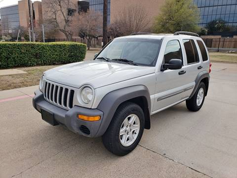 2003 Jeep Liberty for sale at DFW Autohaus in Dallas TX