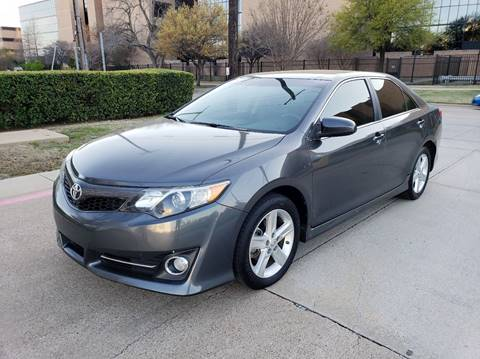 2013 Toyota Camry for sale at DFW Autohaus in Dallas TX
