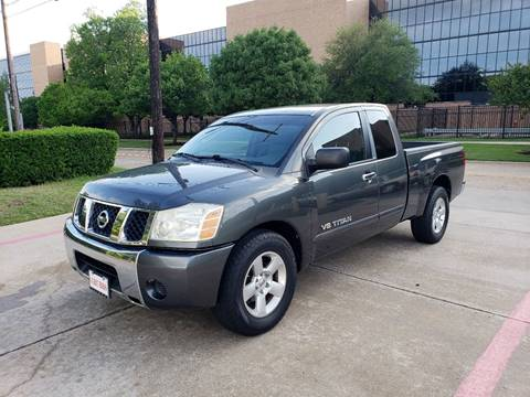 2007 Nissan Titan for sale at DFW Autohaus in Dallas TX