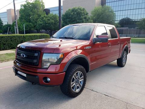 2014 Ford F-150 for sale at DFW Autohaus in Dallas TX