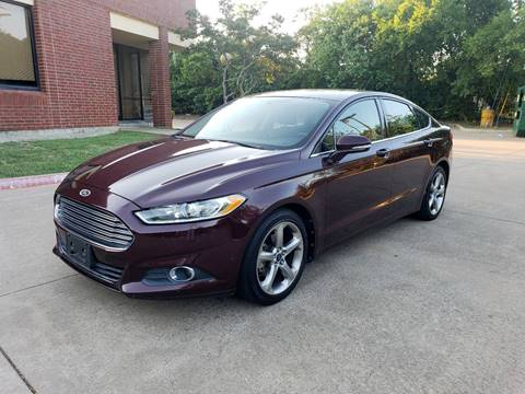 2013 Ford Fusion for sale at DFW Autohaus in Dallas TX