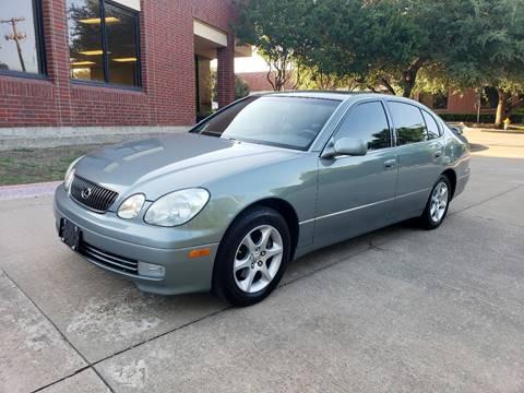 2002 Lexus GS 300 for sale at DFW Autohaus in Dallas TX