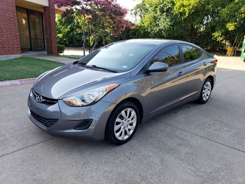2012 Hyundai Elantra for sale at DFW Autohaus in Dallas TX