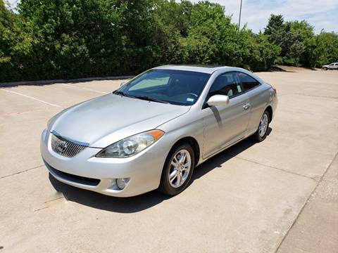 2006 Toyota Camry Solara for sale at DFW Autohaus in Dallas TX