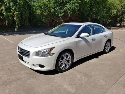 2014 Nissan Maxima for sale at DFW Autohaus in Dallas TX