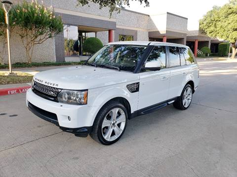 2012 Land Rover Range Rover Sport for sale at DFW Autohaus in Dallas TX