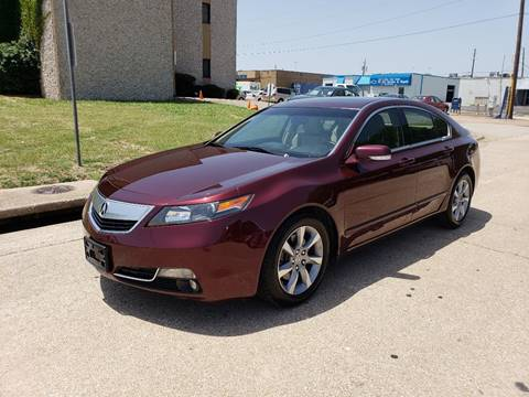2012 Acura TL for sale at DFW Autohaus in Dallas TX