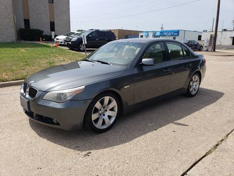 2007 BMW 5 Series for sale at DFW Autohaus in Dallas TX