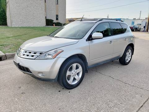 2004 Nissan Murano for sale at DFW Autohaus in Dallas TX
