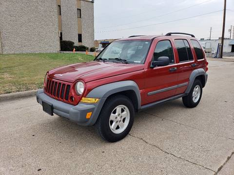 2006 Jeep Liberty for sale at DFW Autohaus in Dallas TX