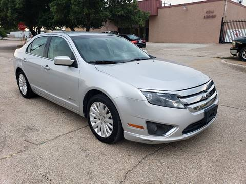 2010 Ford Fusion Hybrid for sale at DFW Autohaus in Dallas TX