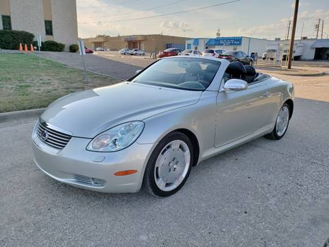 2002 Lexus SC 430 for sale at DFW Autohaus in Dallas TX