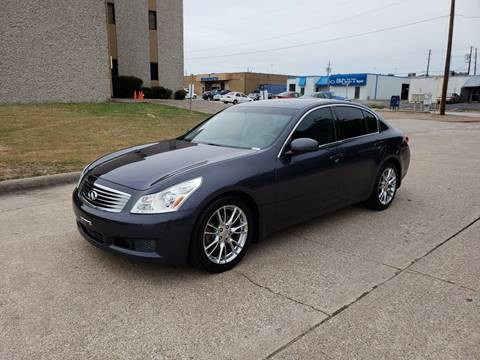 2007 Infiniti G35 for sale at DFW Autohaus in Dallas TX