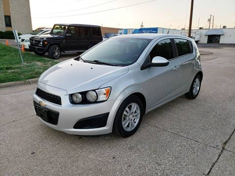 2013 Chevrolet Sonic for sale at DFW Autohaus in Dallas TX