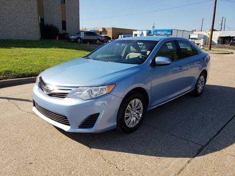 2012 Toyota Camry for sale at DFW Autohaus in Dallas TX