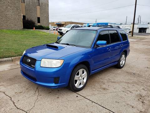 2007 Subaru Forester for sale at DFW Autohaus in Dallas TX