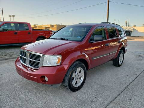 2008 Dodge Durango for sale at DFW Autohaus in Dallas TX