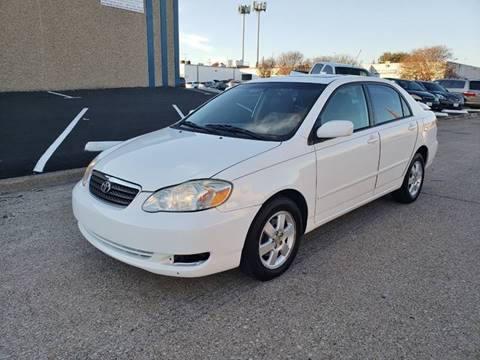 2006 Toyota Corolla for sale at DFW Autohaus in Dallas TX