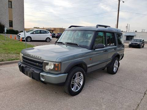 2004 Land Rover Discovery for sale at DFW Autohaus in Dallas TX