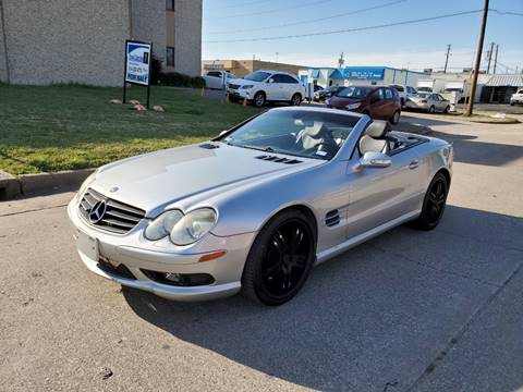 2003 Mercedes-Benz SL-Class for sale at DFW Autohaus in Dallas TX