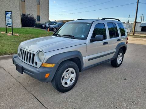 2007 Jeep Liberty for sale at DFW Autohaus in Dallas TX