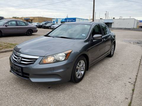 2011 Honda Accord for sale at DFW Autohaus in Dallas TX