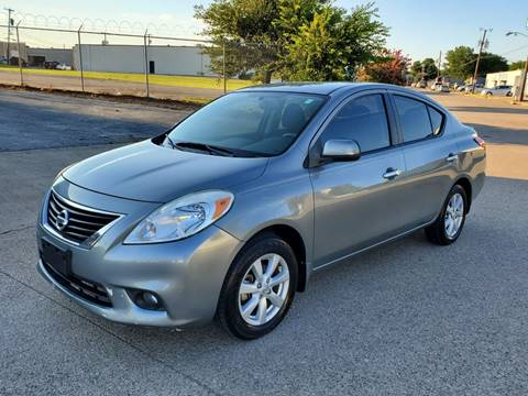 2012 Nissan Versa for sale at DFW Autohaus in Dallas TX