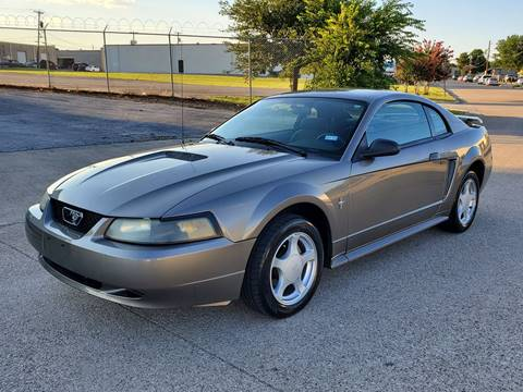 2002 Ford Mustang for sale at DFW Autohaus in Dallas TX