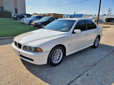 2003 BMW 5 Series for sale at DFW Autohaus in Dallas TX