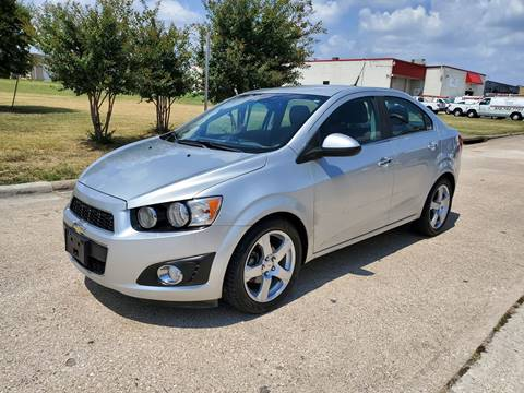 2012 Chevrolet Sonic for sale at DFW Autohaus in Dallas TX