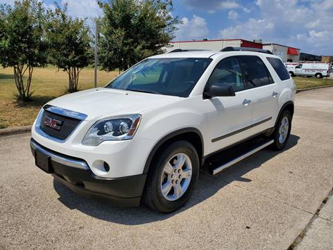 2011 GMC Acadia for sale at DFW Autohaus in Dallas TX