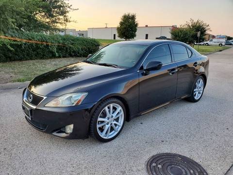 2007 Lexus IS 250 for sale at DFW Autohaus in Dallas TX