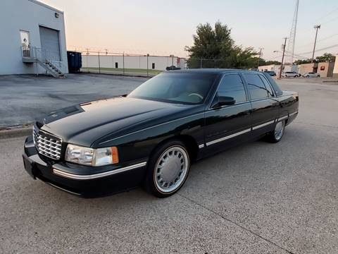 1999 Cadillac DeVille for sale at DFW Autohaus in Dallas TX
