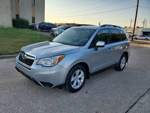2014 Subaru Forester for sale at DFW Autohaus in Dallas TX