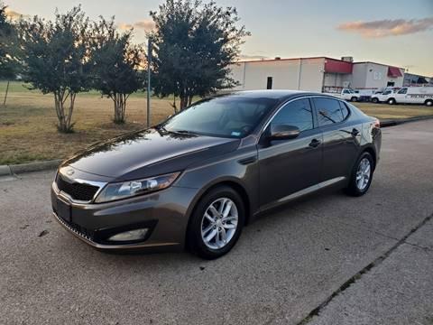 2013 Kia Optima for sale at DFW Autohaus in Dallas TX