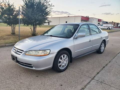 2002 Honda Accord for sale at DFW Autohaus in Dallas TX