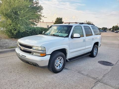 2002 Chevrolet Tahoe for sale at DFW Autohaus in Dallas TX