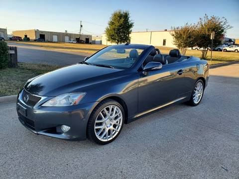 2010 Lexus IS 250C for sale at DFW Autohaus in Dallas TX