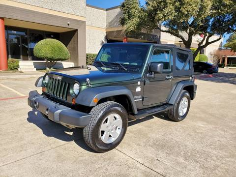 2010 Jeep Wrangler for sale at DFW Autohaus in Dallas TX