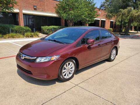 2012 Honda Civic for sale at DFW Autohaus in Dallas TX