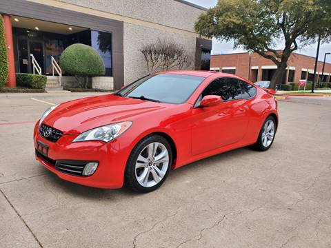 2010 Hyundai Genesis Coupe for sale at DFW Autohaus in Dallas TX