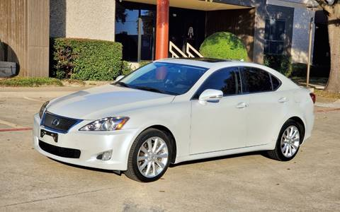 2009 Lexus IS 250 for sale at DFW Autohaus in Dallas TX