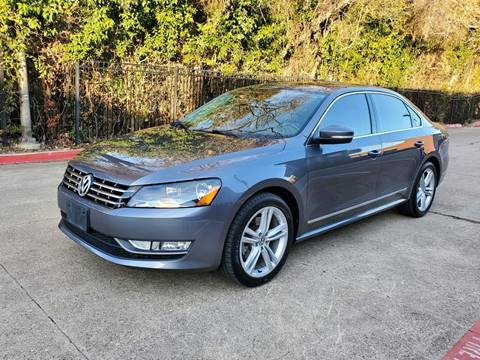2014 Volkswagen Passat for sale at DFW Autohaus in Dallas TX