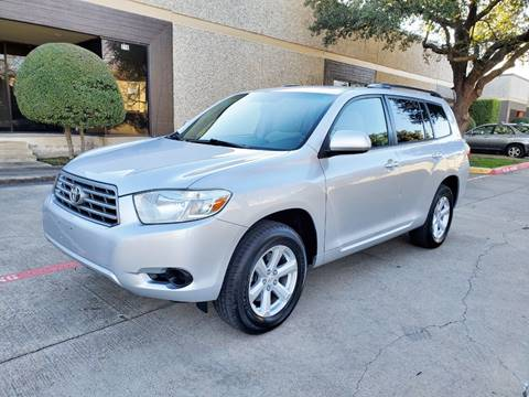 2009 Toyota Highlander for sale at DFW Autohaus in Dallas TX